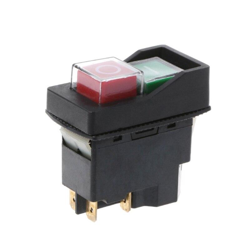 KLD-28A водонепроницаемый магнитный переключатель взрывозащищенные кнопочные Переключатели 220В IP55