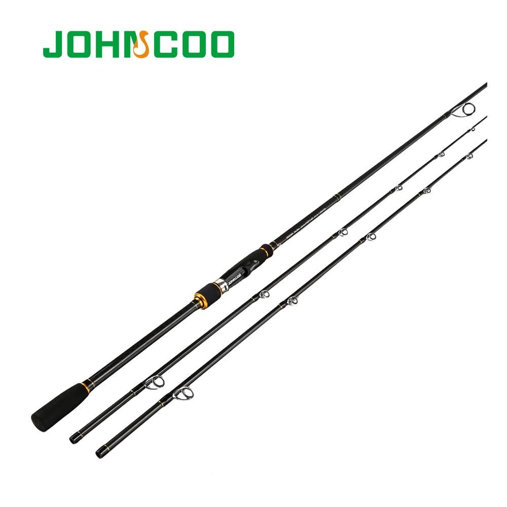 2.4m filature canne à pêche tige en carbone Action Extra-rapide M MH 2 conseils Test 10-40g canne à pêche sensible gladiateur canne à pêche