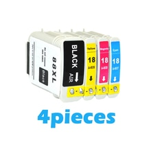 4X XiongCai kompatybilne wkłady atramentowe HP 88 Officejet Pro K550 K550dtn K550dtwn K5400dn K8600 L7590 drukarki dla HP88 XL 88XL