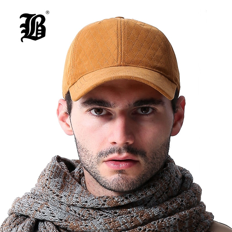[Flb] 100% algodão de alta qualidade boné de beisebol outono inverno chapéu casual snapback boné de beisebol para homens