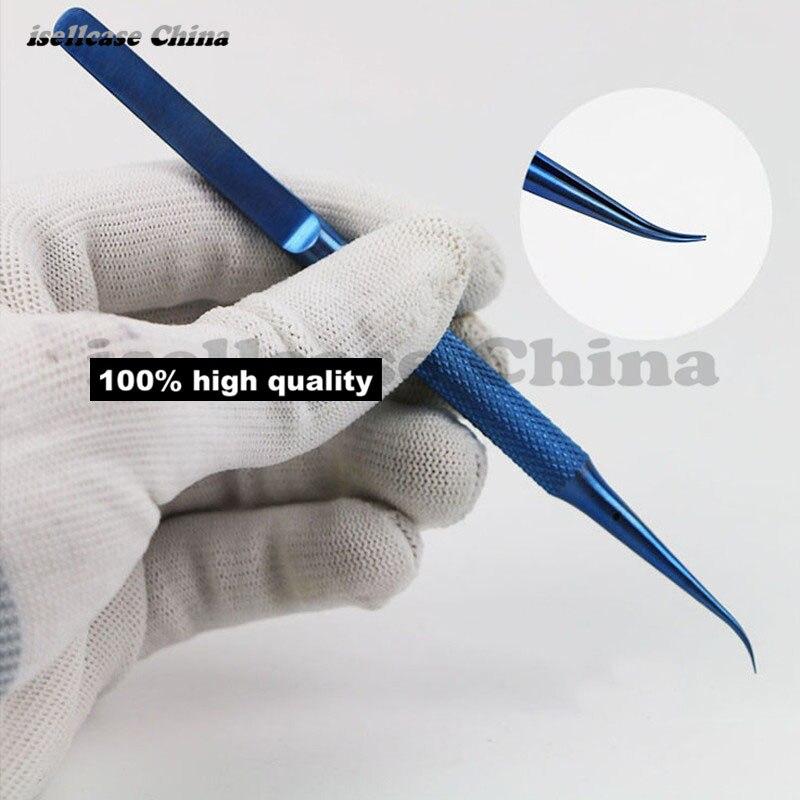 Wozniak титановый сплав Профессиональный ремонт Fly line Пинцет для отпечатков пальцев плоскогубцы перемычка для iphone материнская плата медная проволока