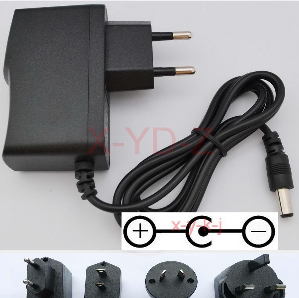 1 шт. AC/DC адаптер питания настенное зарядное устройство адаптер DC9V 1A для Casio AD-5 AD-5MU AD-5MR AD-5EL шнур питания