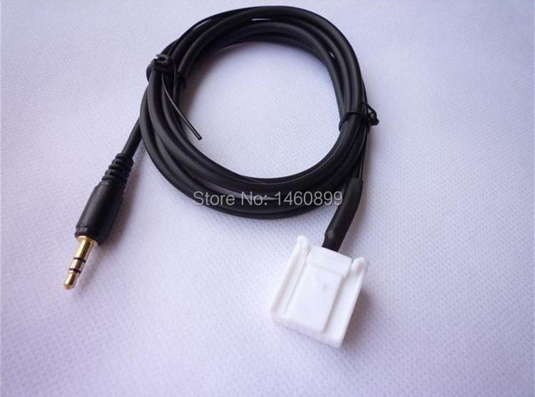 Adaptador de Cable AUX In para Subaru Forester (versión antigua) reproductor de medios de CD, 16 Pines, Jack de 3,5 MM para iPhone iPod