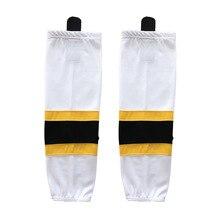 COLDOUTDOOR 100% Polyester Ice Hockey Socks Cheap Shin Guards For Team XW011 high quality men women sport