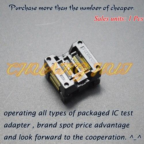 جديد SSOP28 اختبار المقبس OTS-28 (34)-0.65-01 ic المقبس الملعب = 0.65 ملليمتر العرض = 7.8 ملليمتر/5.3 ملليمتر