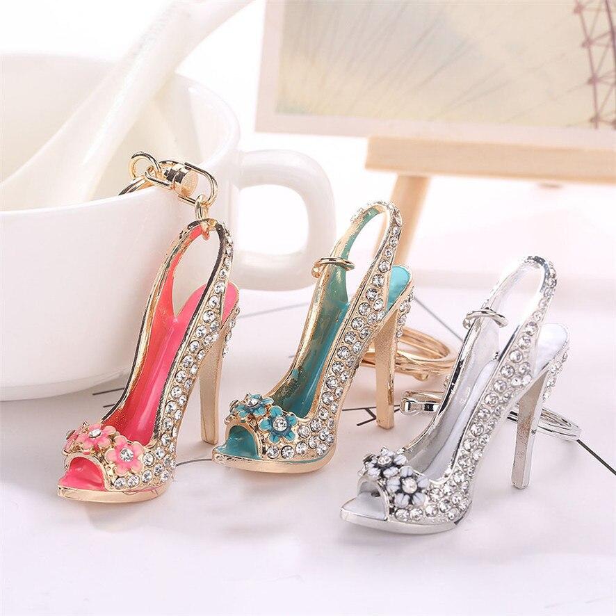 3 цвета, на высоком каблуке, подвеска «модель», стразы брелок для ключей с кисточкой, на сумку, брелок для ключей, автомобильный брелок, подвески для ювелирных изделий, 2019