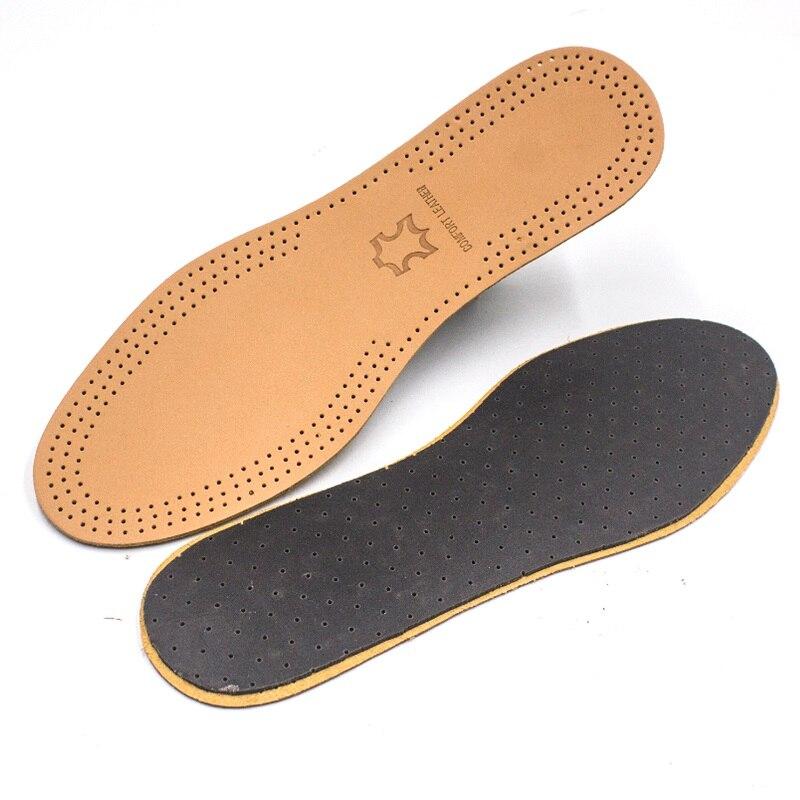 Plantilla desodorante transpirable ultrafina, cuero absorbente del sudor, plantilla para cuidado del pie, almohadilla plana para zapatos
