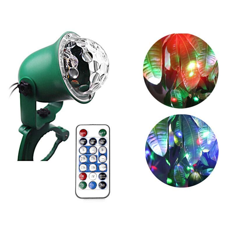 Impermeable IP65 LED luciérnaga en la lámpara del árbol proyector al aire libre luz láser estática Show Party luciérnaga lámpara de iluminación para césped
