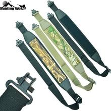 Élingue tactique réglable de fusil de fusil de fusil avec la courroie de ceinture dépaule de pistolet de pivotement rapide de 1.25