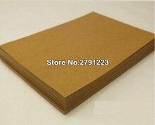 Lot de 20 pièces A4, vente en gros! Papier Kraft A4 brun épais de haute qualité, carton vierge