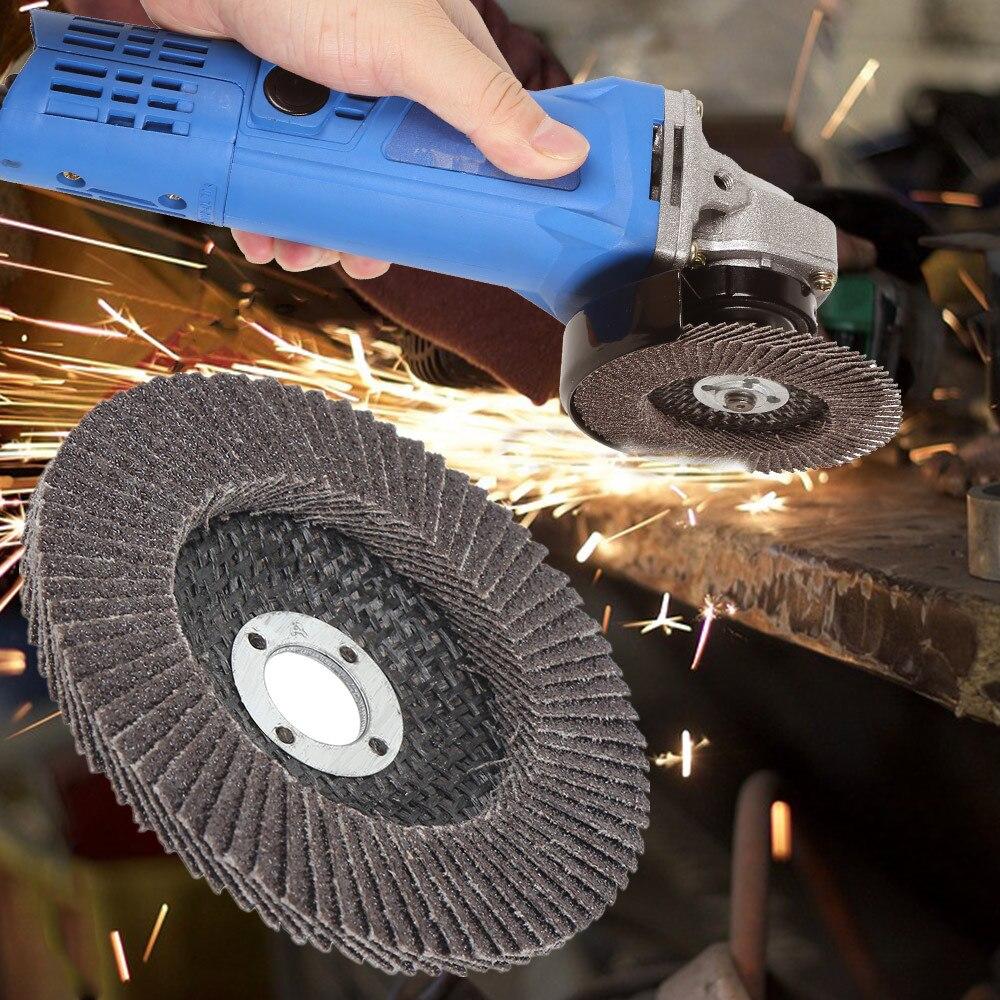Discos de lija de óxido de aluminio de 20 piezas discos de lija profesionales discos de lija 60/80 moler arena ruedas cuchillas para amoladora angular