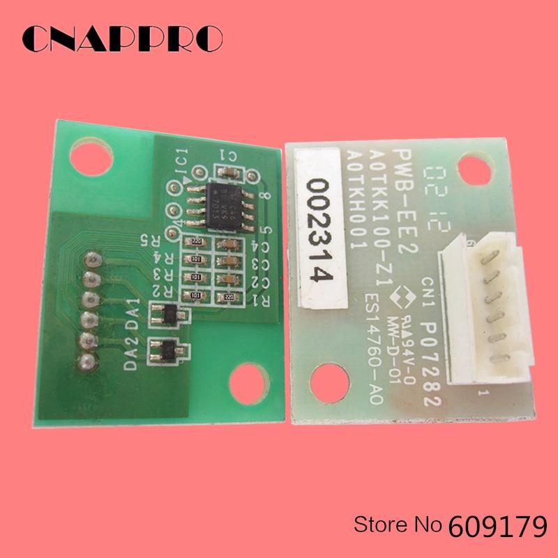 4PCS/lot DV612 DV-612 DV 612 Developer unit Chip for konica Minolta Bizhub 552 652 c452 C552 C652 DV ic reset