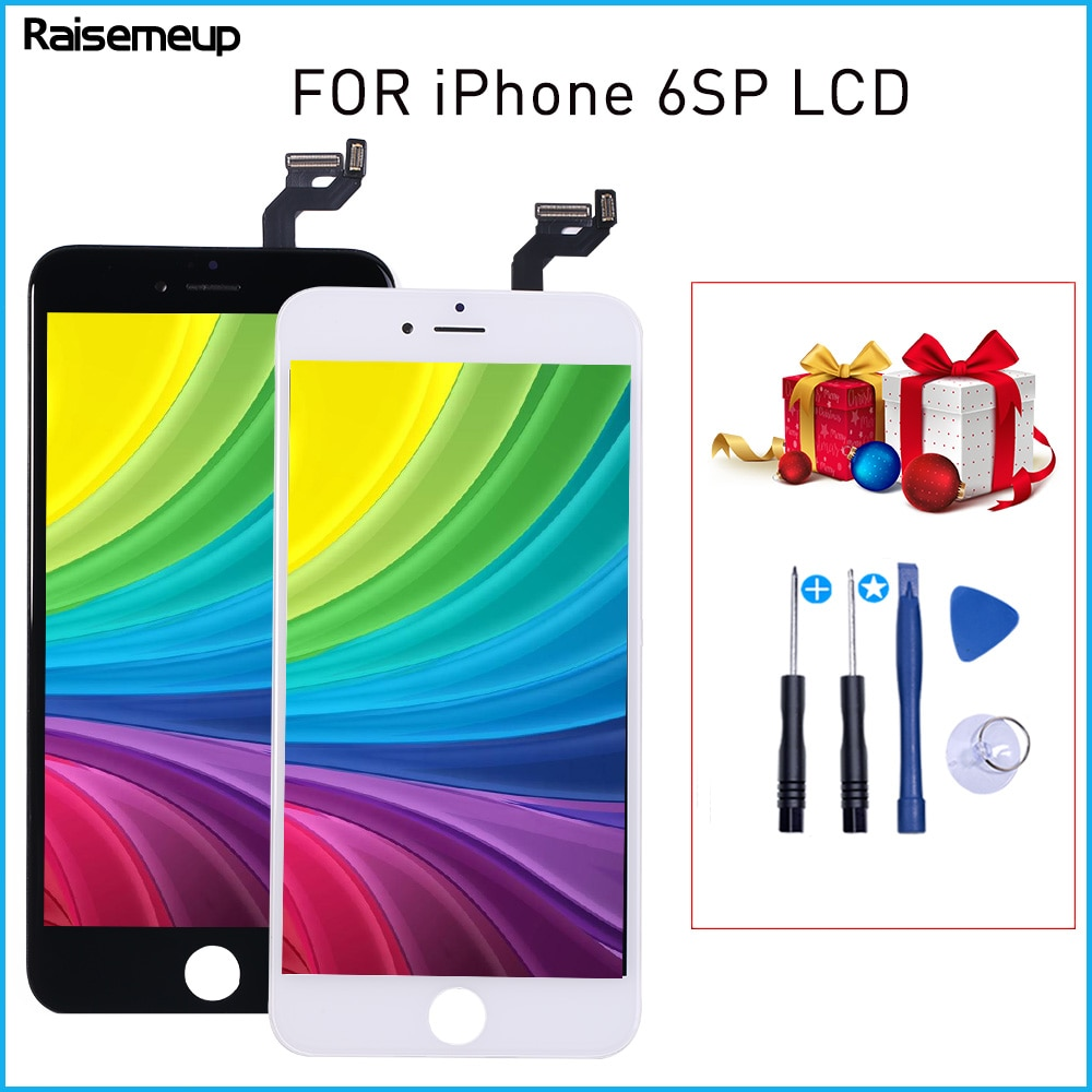 Calidad AAAA digitalizador asamblea para iPhone 6S P A1634 A1687 A1699 pantalla LCD para iPhone 6S Plus 3D pantalla táctil de reemplazo