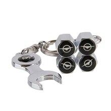 Auto Car Styling Car Wheel  Tire Valve Stems Caps Mini Wrench Keychain For Haima 3 7 Freema Family S3 S5 S7 323 Happin Fstar