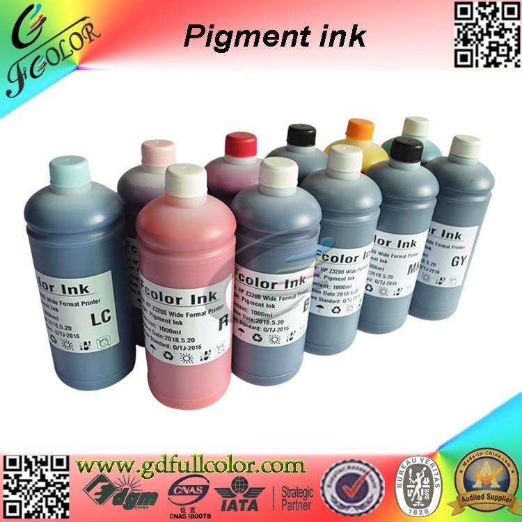 Tinta de pigmento de alta calidad para Epson stylus Pro4900 4910 tinta de recarga de impresora de gran formato