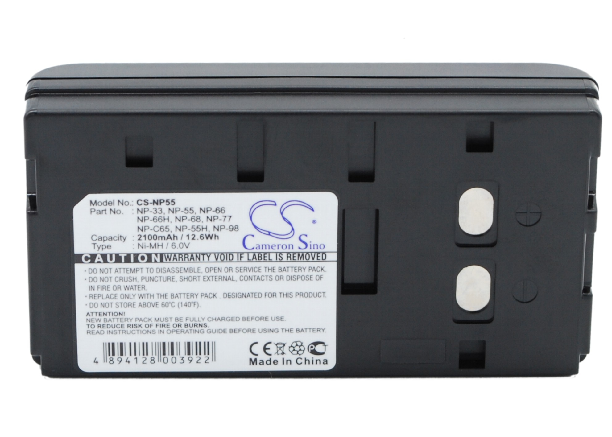 Cameron Sino NP-33 Battery For SONY CCD-20061,CCD-335E,CCD-35,CCD-366BR,CCD-380,CCD-390,CCD-400,CCD-50E,CCD-550,CCD-850,CCD-EB55