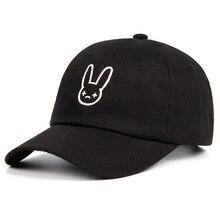 Rapper Reggaeton Artist Dad Hat Bad Bunny 100% Cotton Hats Snapback Unisex Baseball Caps Concert Hat