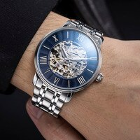 SINOBI Top Quality Men Watch Mechanical Tourbillon Luxury Fashion Brand Man Sport Watches Mens Automatic Watch Relogio Masculino