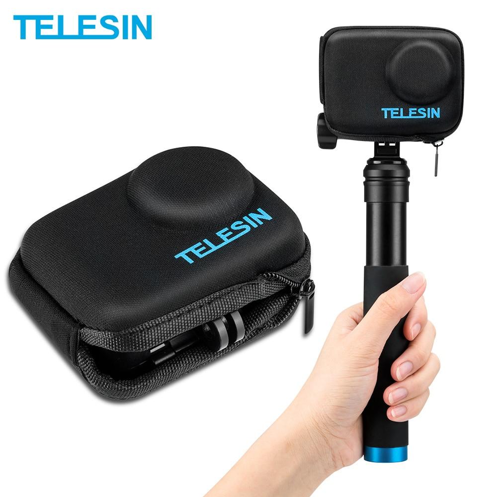 TELESIN Mini-bolsa EVA porttil Protector de mano... funda de transporte para DJI...
