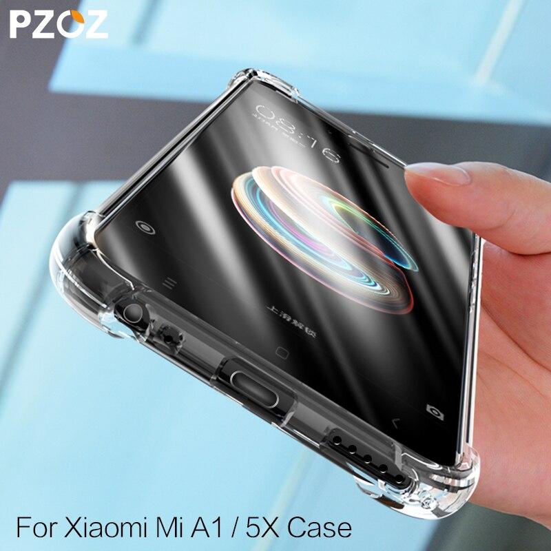 PZOZ Xiaomi Mi A1 A2 Lite чехол из ТПУ Роскошный противоударный защитный чехол для телефона xiaomi Mi 5 S 5X 6X 5S Mi5S Plus mi5x Redmi 6 Pro