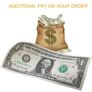 Additional Pay on Your Order Extra Fee