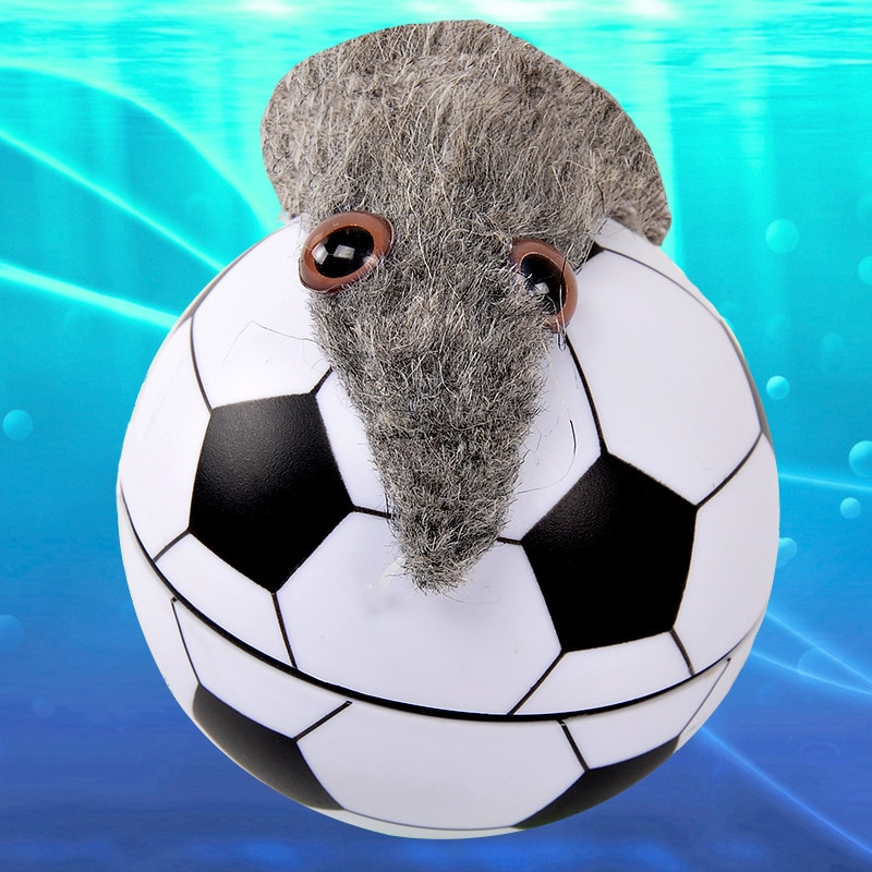 Brinquedo diy água automática bola de rolamento brinquedo nutria beaver nutria brinquedo elétrico beaver