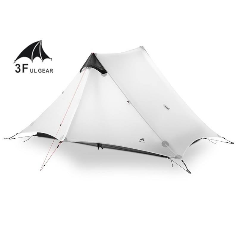 LanShan 2 3F UL GEAR 2 Person 1 Person Outdoor Ultralight Camping Tent 3 Season 4 Season Professional 15D Silnylon Rodless Tent недорого