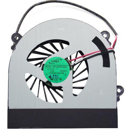 Laptop CPU Cooling Fan For Clevo W150 W150er W350 W350ETQ W370 W370ET Series AB7905HX-DE3 6-31-W370S-101