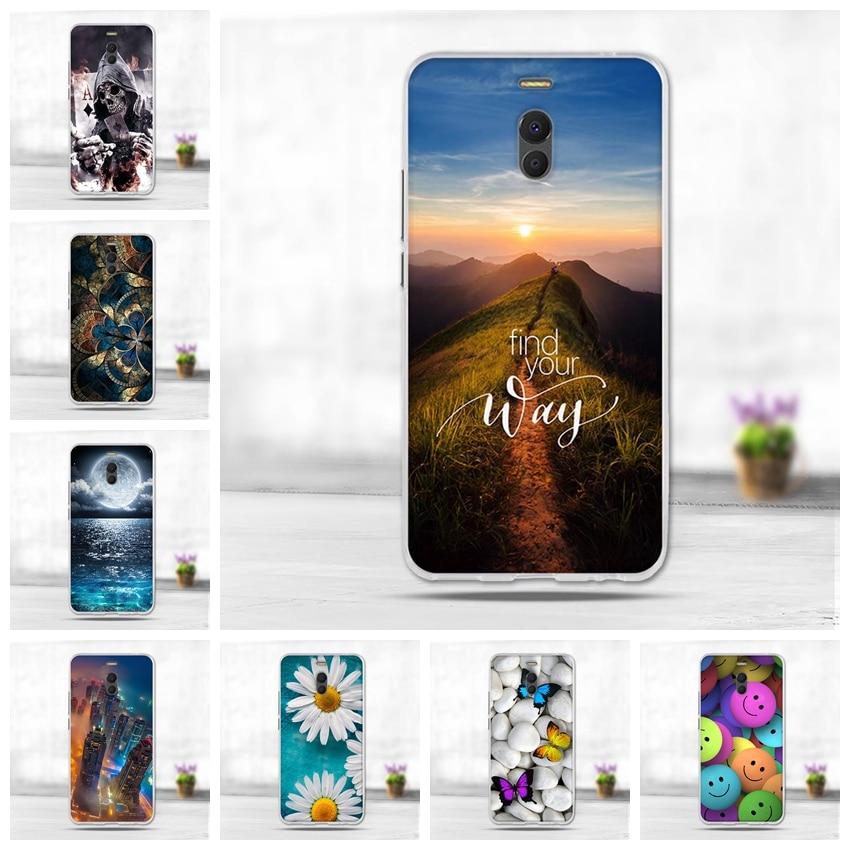 Carcasa 3D de Animal bonito para Meizu M6 Note Case pintura contraportada 3D TPU de silicona suave para Meizu M6Note fundas de teléfono