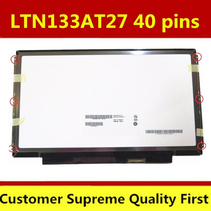 "13,3 ""CLAA133WA01A B133XW03 B133XW01 V.0 B133XW01 V.1 LTN133AT27 para Lenovo E320 E325 Z380 U360 LP133WH2 pantalla LCD"