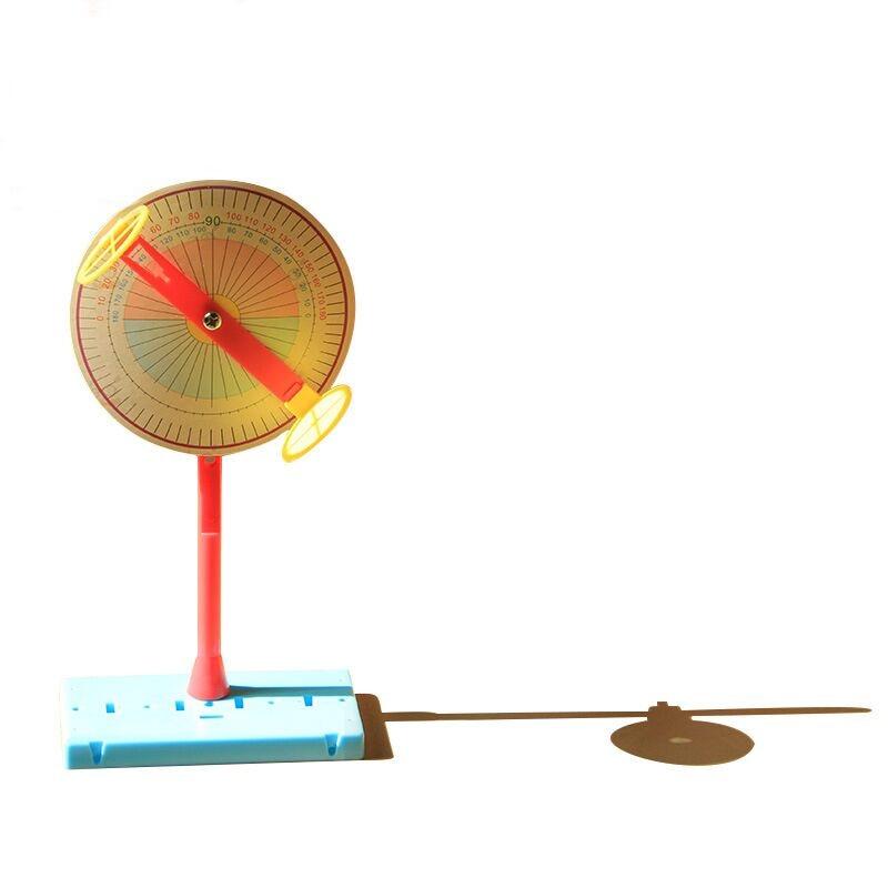 1 Set éducatif enfants Science expériences jouets technologie matériaux bricolage cadran solaire physique enseignement jouets cadeaux pour enfants