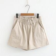 Plus size cotton shorts female summer section casual harem shorts