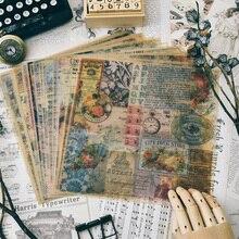 KSCRAFT-papier vélin à motifs Vintage   Pour Scrapbooking, planificateur heureux/fabrication de cartes/projet journellement