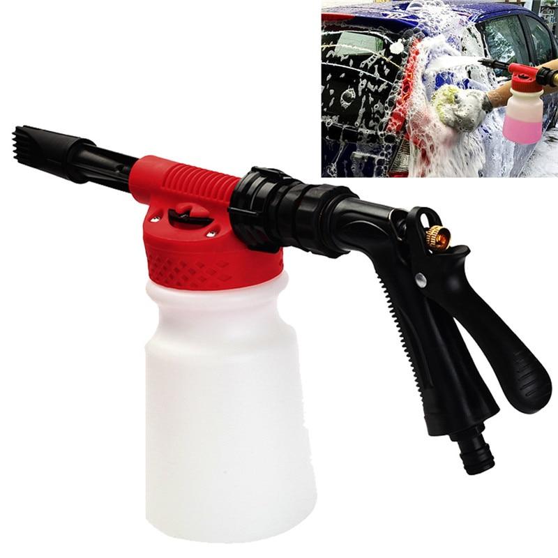 Car Care Cleaning 1pcs 900ml Wash Foam  Pressure Foamaster Garden Hose Water Soap Shampoo Sprayer 19Y16