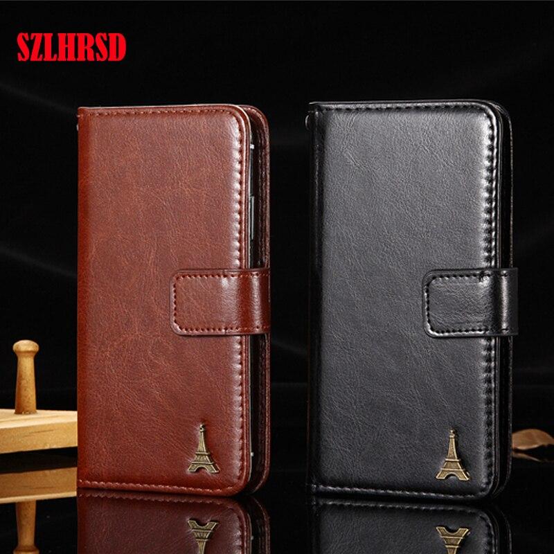 Компактный кожаный чехол-бумажник Fly Life, защитный чехол Fly Power Plus 3 Plus 1 Plus 2 FS526 FS530 FS528 FS554 FS530 FS403