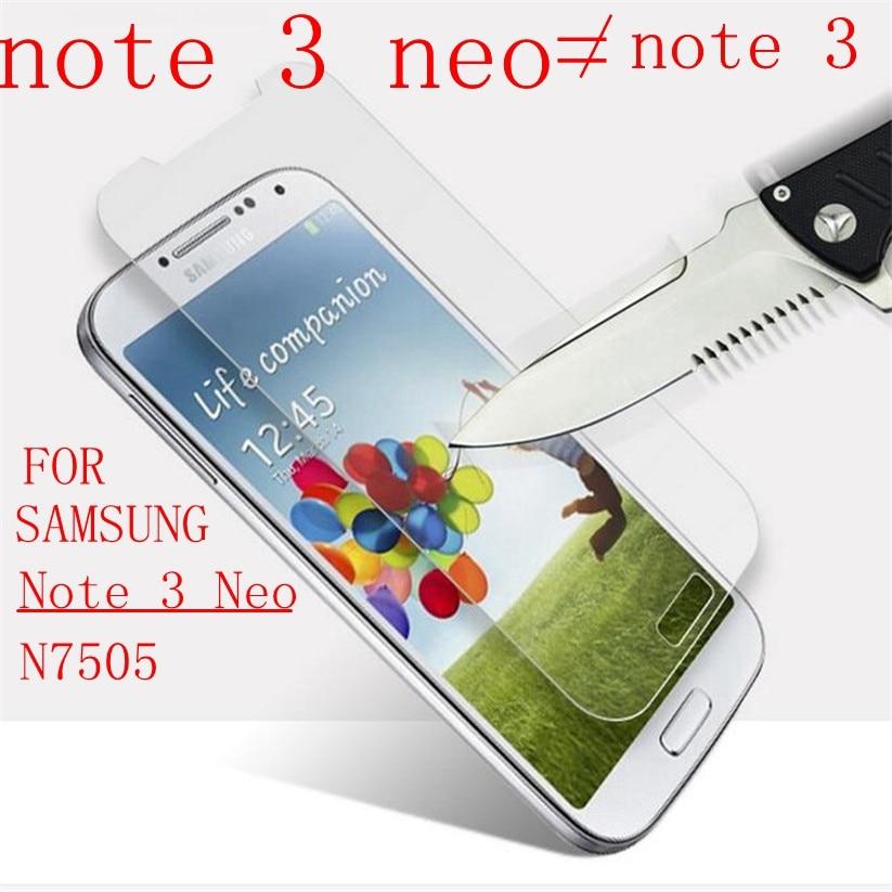 Закаленное стекло Note 3 neo для Samsung Galaxy Note 3 neo mini SM-N7505 N750 N7505 N7502, защитная пленка для экрана