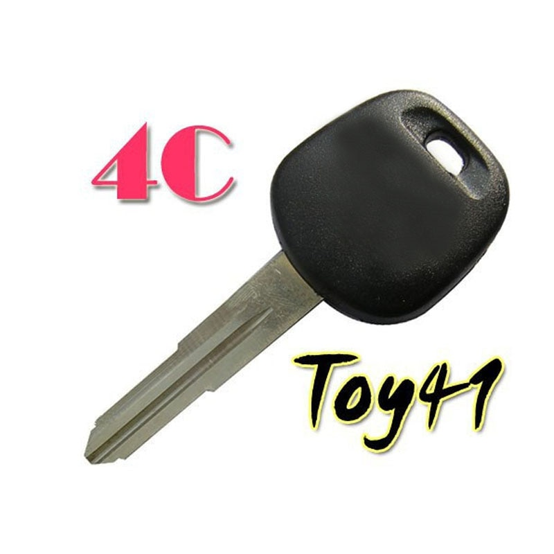 Chip de Chave Transponder Para Toyota 4C TOY41 Lâmina Direita (5 pçs/lote)