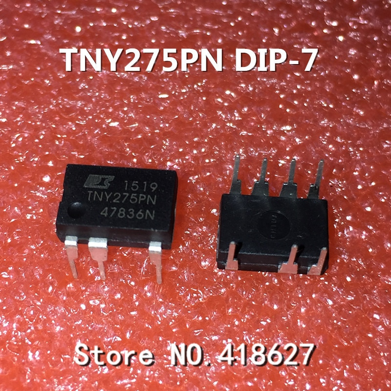 10 pçs/lote TNY275PN TNY275P DIP-7 chip de potência LCD