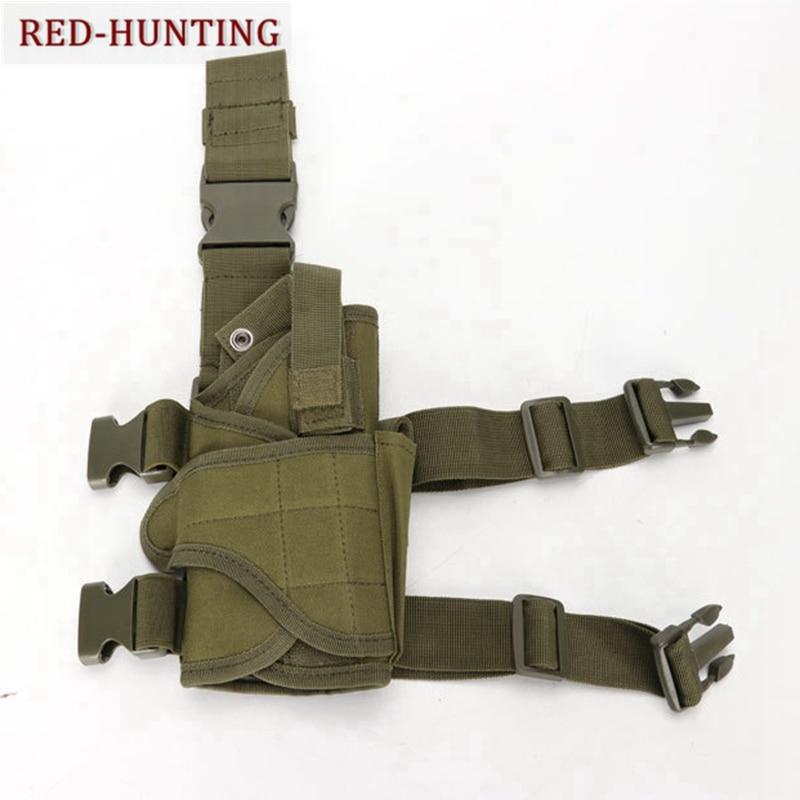 Pistolera táctica ajustable, pistolera para pistola de pierna, funda para GLOCK17 19 Colt 1911 BERETTA 96 92 P2022 con 6 colores