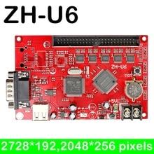 Carte de contrôle USB led à 2728*192,2048*256 pixels   Pour panneau de contrôle dintérieur et extérieur de grande taille programmable