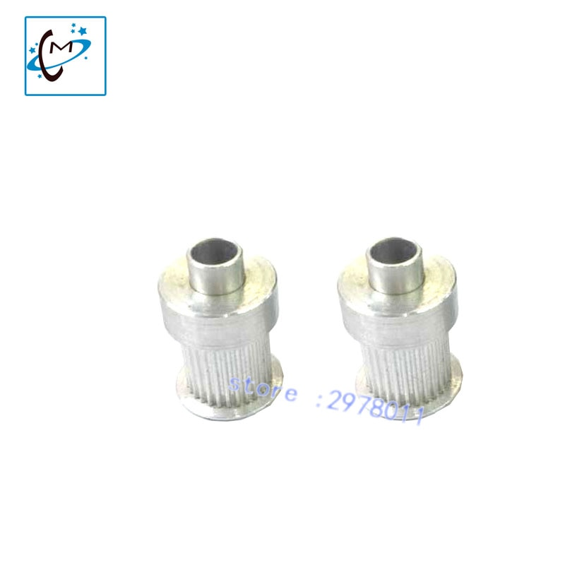 Inkjet printer motor gear katrol 28 tanden voor Aprint Atexco Fina printer S2M 2GT riem katrol aluminium gear