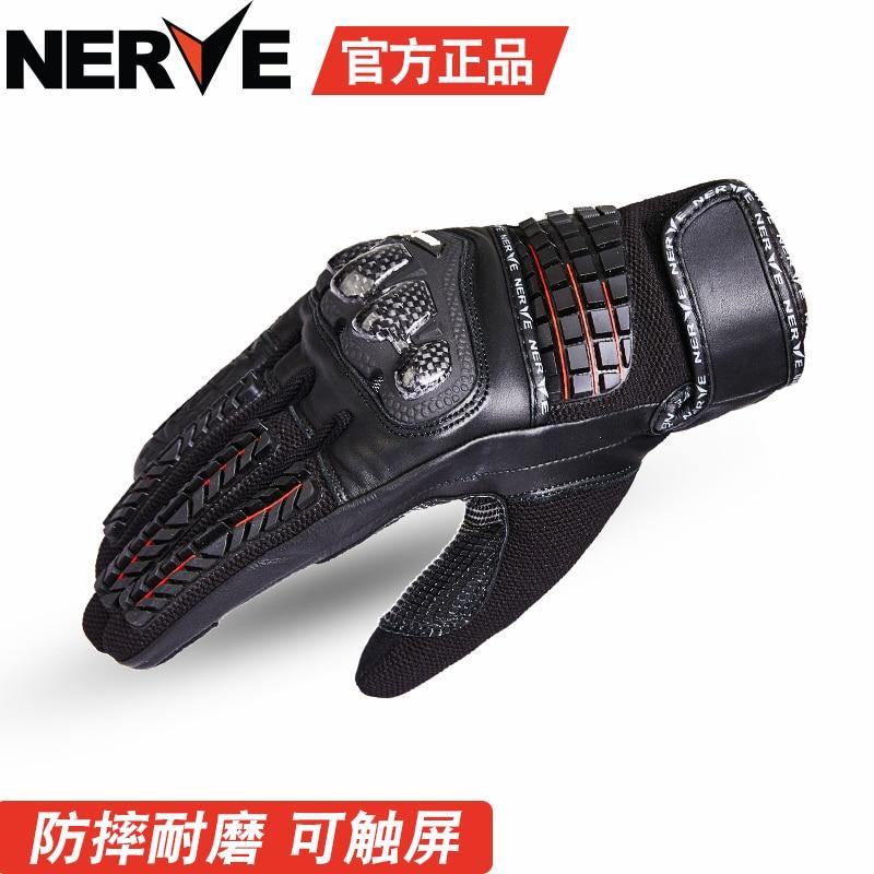 Nuevos guantes para moto rcycle equipo de protección para carreras moto Retro moto rcycle guantes pantalla táctil KQ1037