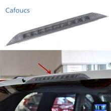 Cafoucs alta posicionado montagem traseira terceira luz de freio parar lâmpada apto para nissan x-trail t31 xtrail 2008 2009 2010 2011 2012 2013