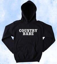 Country Babe sweat sud fille Merica redcou sud Belle Tumblr à capuche bébé à capuche esthétique vestes à capuche femmes haut