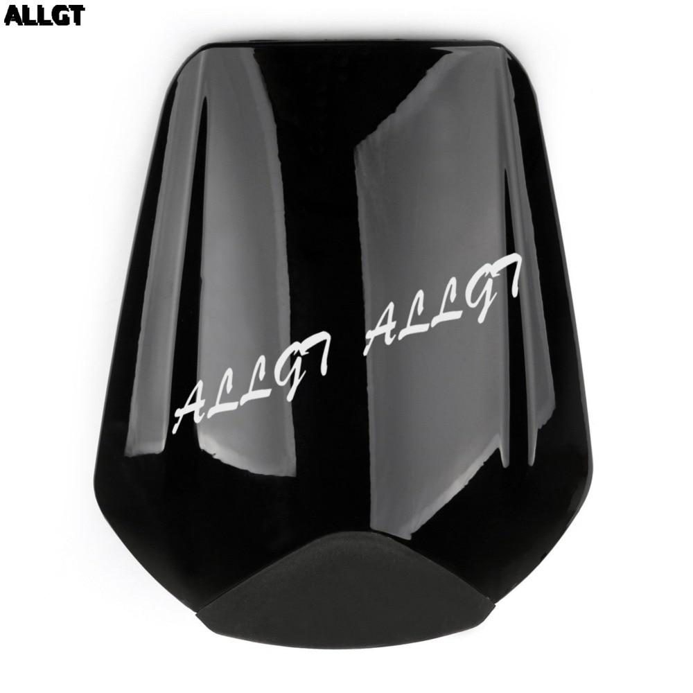 1 cubierta de asiento trasero negro para motocicleta compatible con Honda CBR1000RR 2008-2013 2014 2015 2016 ABS plástico negro