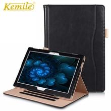 Kemile Slim inteligentny skórzane etui na Lenovo Tab 4 10 TB-X304L TB-X304F/N Tab 4 10 Plus TB-X704L TB-X704F/N cover Tablet case