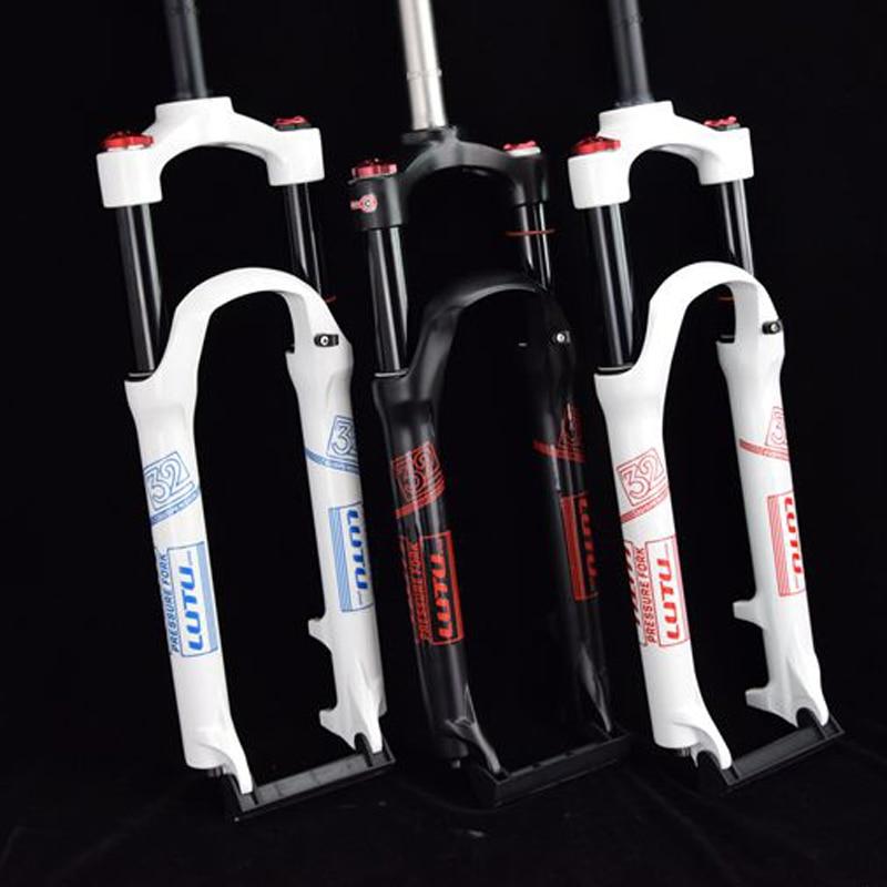 Horquilla de bicicleta de aire 26 27,5 29 ER MTB, suspensión de montaña, horquilla de resistencia al aire, Bloqueo de línea de amortiguación de aceite para over SR SUNTOUR EPIXON