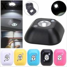 1pc New Mini Wireless Infrared Motion Sensor Ceiling Night Light Battery Powered Porch Lamp Brand New