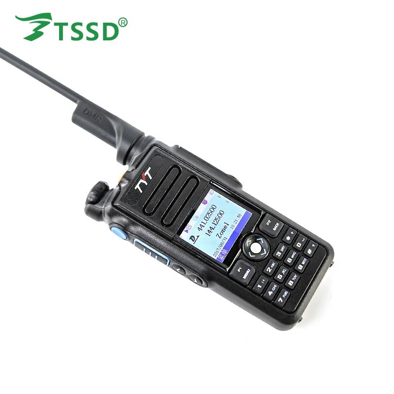 Brand New TYT MD-2017 IP-67 Waterproof GPS Dual Band DMR/Analog 144/430 Walkie Talkie Two Way Radio