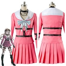 2017 Danganronpa V3 tuer harmonie Iruma Miu lapin Cosplay Costume Halloween carnaval noël Anime Costumes